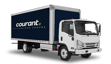 camion livraison courant plus